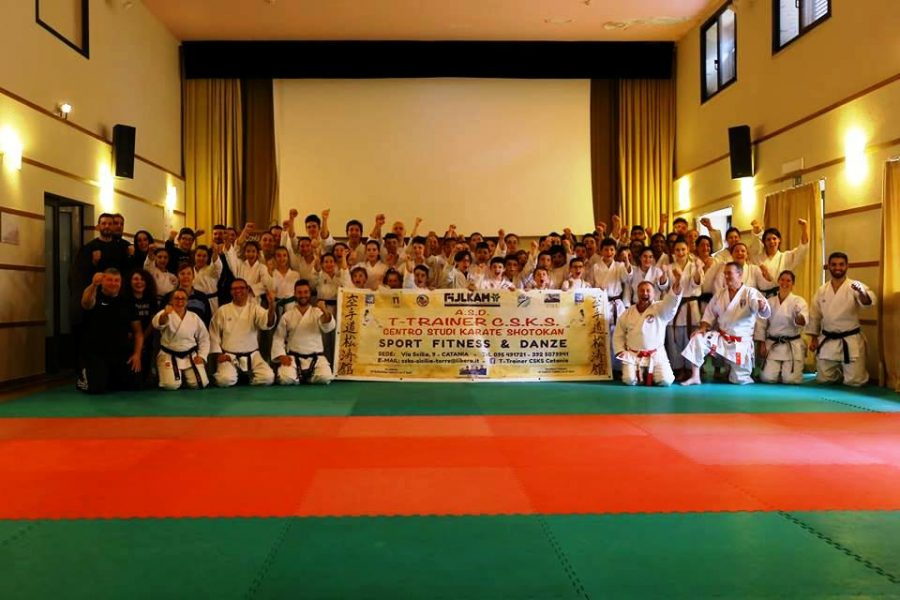 5th International Karate Seminar organised by T-Trainer C.S.K.S. in Zaffarena 11 – 13 January 2019