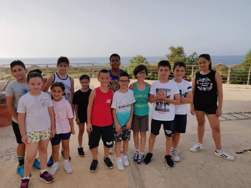 First Karate Training Camp organised by B'Kara Karate Club  20-22 July 2018