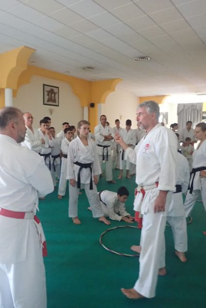 International Karate Seminar organised by T-Trainer C.S.K.S. in Sicily 26th – 30th June 2019